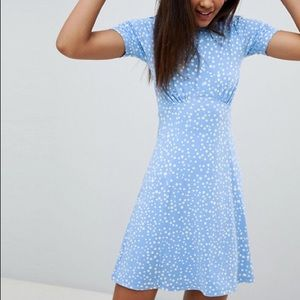 ASOS Tall Polka dot tea dress